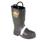 Thorogood Rubber Structural Fire Boot with Felt Lined Lug